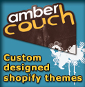Ambercouch design custom shopify themes